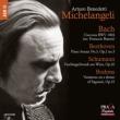 Michelangeli : J.S.Bach Chaconne, Beethoven Sonata No.3, Schumann Faschingswank aus Wien, Brahms Paganini Variations (1941-57)(Hybrid)