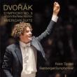 Symphony No.9, American Suite : Ticciati / Bamberg Symphony Orchestra (Hybrid)