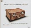 Fahrende Gesellen -Mahler, Debussy, Zemlinsky, Busoni : D.Henschel(Br)de Leeuw / Oxalys