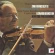 Chausson Poeme, Saint-Saens, Ravel : Francescatti(Vn)Bernstein / New York Philharmonic