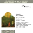 Messiah : Hogwood / Academy of Ancient Music, Judith Nelson, Kirkby, C.Watkinson, etc (2CD)(+blu-ray Audio)