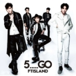 5.....GO [First Press Limited Edition B] (CD+DVD)