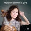 Tchaikovsky Violin Concerto, Mendelsshon Violin Concerto : Steinbacher(Vn)Dutoit / Orchestre de la Suisse Romande (Hybrid)