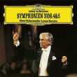 Symphonies Nos.4, 5 : Bernstein / Vienna Philharmonic (Single Layer)