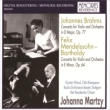 Mendelssohn Violin Concerto, Brahms Violin Concerto : Martzy(Vn)Klemperer / Haag Residentie Orchestra, G.Wand / Stuttgart RSO (1954, 1964)