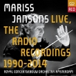 Mariss Jansons Live, The Radio Recordings 1990-2014 : Royal Concertgebouw Orchestra (13CD)(+DVD)