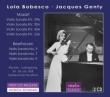 Mozart Violin Sonatas Nos.24, 28, 40, 42, Beethoven Violin Sonatas Nos.3, 7, 9 : Bobesco(Vn)Genty(P)(1958)(2CD)