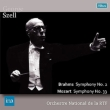 Brahms Symphony No.2, Mozart Symphony.33 : Szell / French National Radio Orchestra (1958)