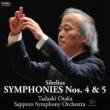 Symphonies Nos.4, 5 : Tadaaki Otaka / Sapporo Symphony Orchestra (Hybrid)
