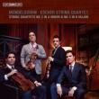 String Quartets Nos.2, 3, etc : Escher String Quartet (Hybrid)