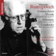 Dvorak Cello Concerto, Schumann, Tchaikovsky : Rostropovich(Vc)Boult / Royal Philharmonic, Rozhdestvensky / Leningrad Philharmonic, etc (Hybrid)
