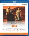 Aida : Ronconi, Maazel / Teatro alla Scala, Chiara, Pavarotti, Dimitrova, J.Pons, Ghiaurov, etc (1985 Stereo)