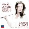 Brahms Violin Concerto, Bartok Violin Concerto No.1 : J.Jansen(Vn)Pappano / London Symphony Orchestra, St.Cecilia Academic Orchestra