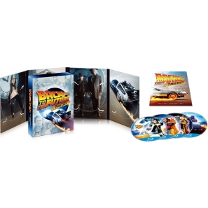 Back to the Future 30th Anniversary Edition Blu-ray BOX