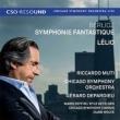 Symphonie Fantastique, Lelio: Muti / Cso & Cho Zeffiri Ketelsen Depardieu(Narr)