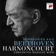 Symphonies Nos.4, 5 : Harnoncourt / Concentus Musicus Wien