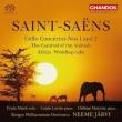 Cello Concertos Nos.1, 2, Le Carnaval des Animaux, etc : Mork(Vc)Lortie(P)Neeme Jarvi / Bergen Philharmonic (Hybrid)