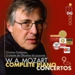 Complete Piano Concertos : Zacharias(P)/ Lausanne Chamber Orchestra (9CD)