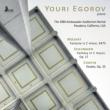 Youri Egorov : The 1980 Ambassador Auditorium Recital Pasadena California USA