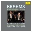 Piano Concertos Nos.1, 2 : Pollini(P)Thielemann / Staatskapelle Dresden(2CD)