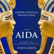 Aida : Mehta / Maggio Musicale Fiorentino, Bocelli, K.Lewis, Simeoni, Colombara, etc (2015 Stereo)(2CD)