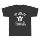 けものフレンズ フレンズTシャツ(ブラック)XL
