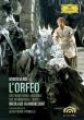 L' orfeo: Ponnelle Harnoncourt / Zurich Monteverdi Ens Huttenlocher Turban