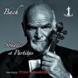 無伴奏ヴァイオリンのためのソナタとパルティータ全曲 パトリス・フォンタナローザ(2CD)
