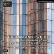 ブランデンブルク協奏曲全6曲(4手ピアノ版)エレオノール・ビンドマン、ジェニー・リン(2CD)