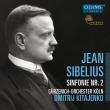 シベリウス:交響曲第2番、グリーグ:過ぎにし春、他 ドミトリー・キタエンコ&ケルン・ギュルツェニヒ管弦楽団