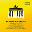 Piano Masters in Berlin : G.Anda Argerich Barenboim Foldes Gilels Labeue Pollini Yundi Bpo Skb (8CD)