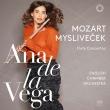 モーツァルト:フルート協奏曲第1番、第2番、ミスリヴェチェク:フルート協奏曲 アナ・デ・ラ・ヴェガ、イギリス室内管弦楽団