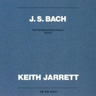 バッハ(1685-1750)/Well-tempered Clavier Book.2: Keith Jarrett