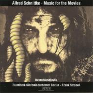 シュニトケ(1934-1998)/Film Music: Strobel / Berlin. rso