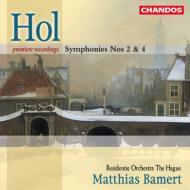 ホル:交響曲第2番&第4番 バ−メルト/ハ−グ・レジデンティ管弦楽団