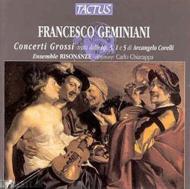 ジェミニアーニ(1687-1762)/Concerti Grossi: Ensemble Risonanze