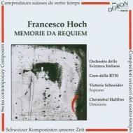 Hoch Francesco *cl*/メモリエ・ダ・レクイエム: Halffter / Swiss-italian. ro