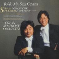 Don Quixote / Cello Concerto: Yo-yo Ma(Vc), Ozawa / Bso
