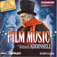 リチャード・アディンセル:映画音楽集/BBCフィルハーモニック、ラモン・ガンバ(指揮)