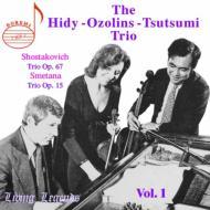 Piano Trio./ .2: Hot Trio<堤剛(Vc)ozolins(P), Hidy(Vn)>