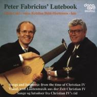 Lute Classical/ペーター・ファブリツィウスのリュート・ブック