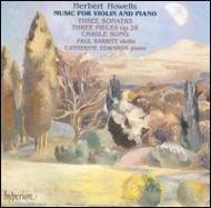 Violin Sonata.1-3, Etc: Barritt(Vn), Edwards(P)