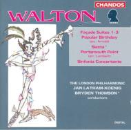 ウォルトン:ファサード第1・2・3組曲 他 ケーニック/トムソン 他