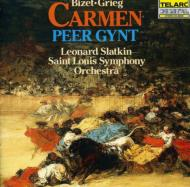 Carmen Suite第1、2番 / 『ペール・ギュント』 Suite Slatkin / St.louis.so