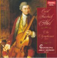 アーベル、カール・フリードリヒ(1723-1787)/6 Symphonies: Shepherd / Cantilena