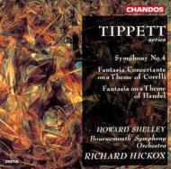 ティペット:交響曲第4番 他 シェリー/ヒコックス/ボーンマス