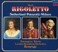 Rigoletto: Bonynge / Lso Sutherland Pavarotti Milnes Talvera