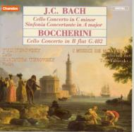 J・C・バッハ:チェロ協奏曲 他 Y・トゥロフスキー(vc)他