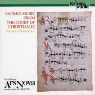 Sacred Music From The Court Ofchristian Iv: Holten / Ars Nova