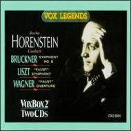 Sym, 8, : Horenstein / Swd So +liszt: Faust Symphony, Wagner